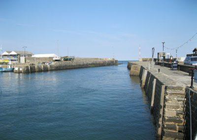 Aberaeron Harbour Entrance