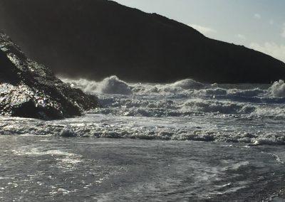 Mwnt Cove