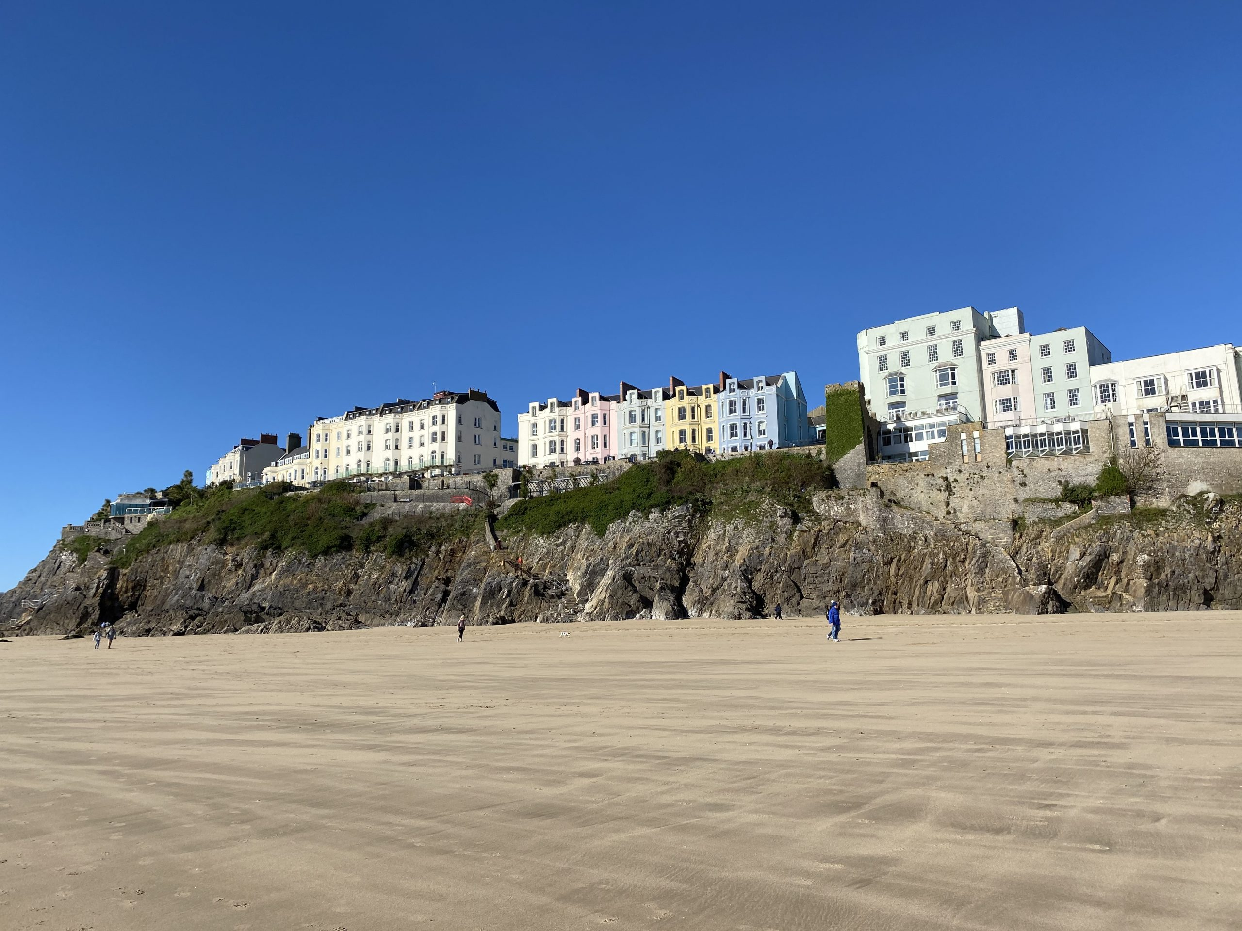 Tenby from the beach