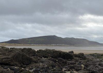 Rhosilli beach & rocks