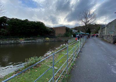 St Dogmaels pond