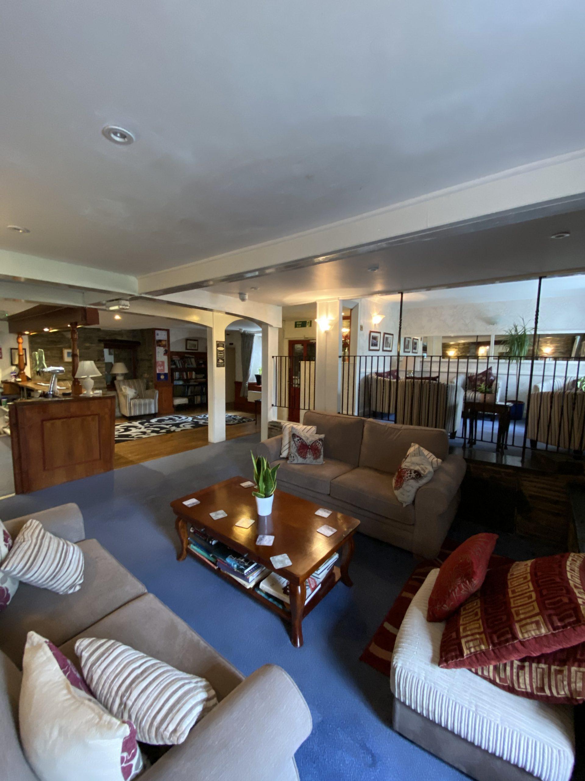Flambards lounge