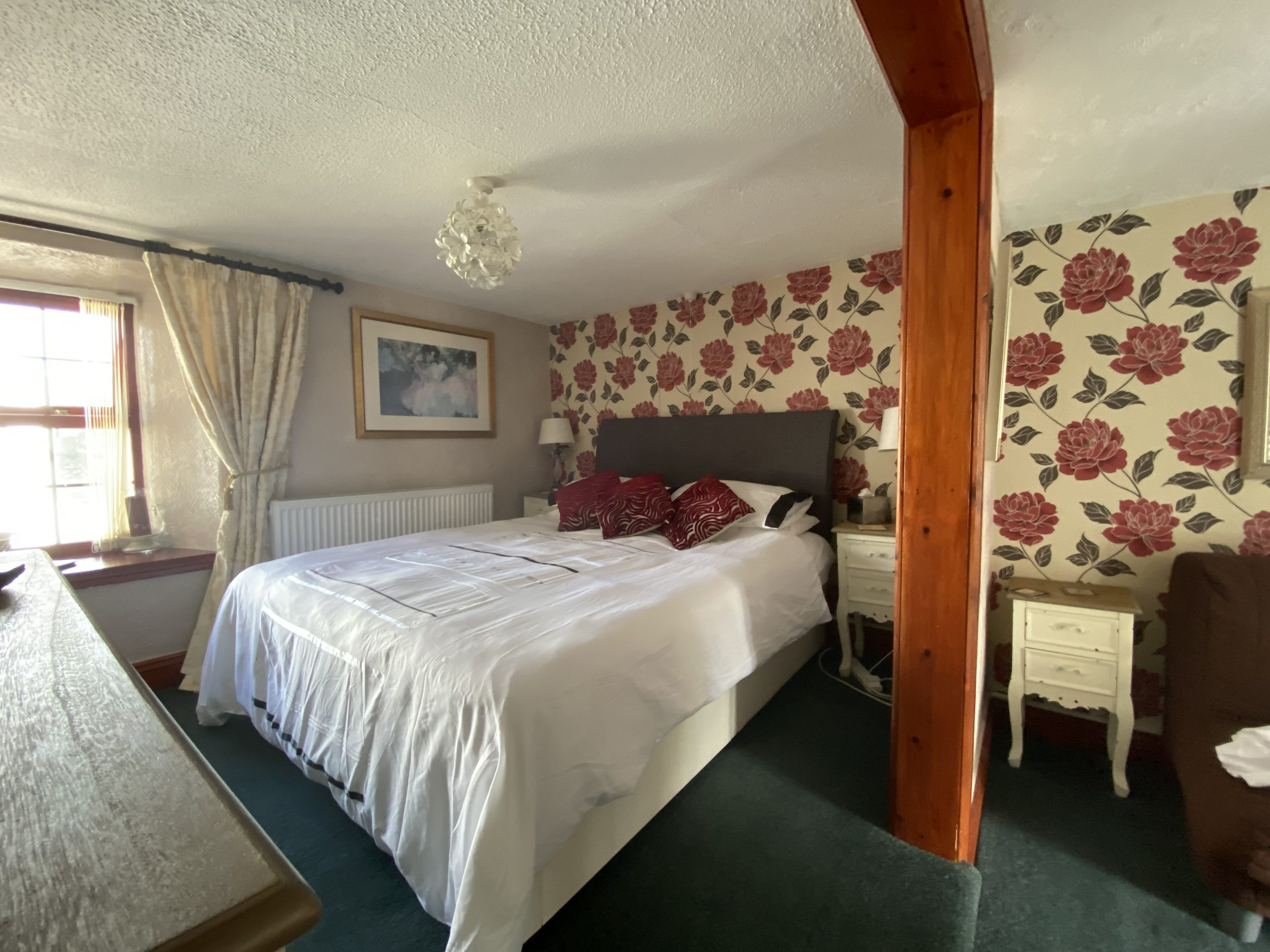 Room 1 large double bed