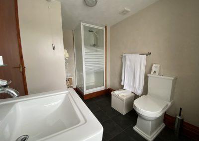 Flambards Hotel Room 2 shower room