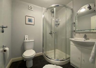 Flambards Hotel shower Room 5 shower room