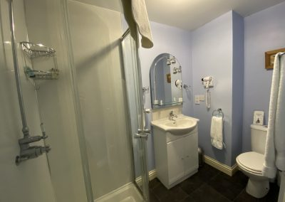 Room 7 shower room