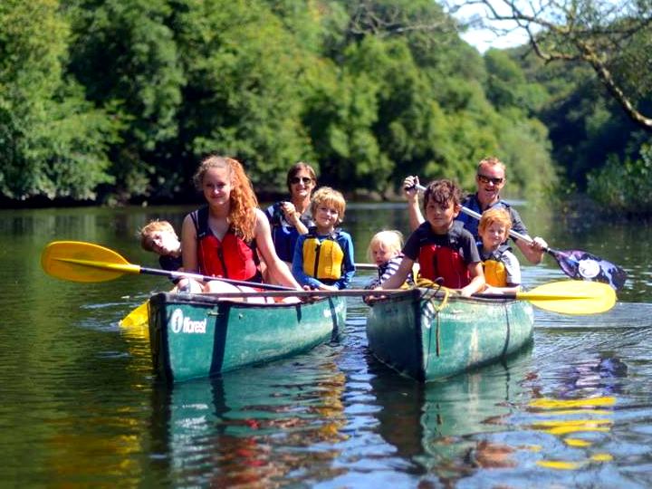 Adventure Beyond Canoeing on the Teifi family